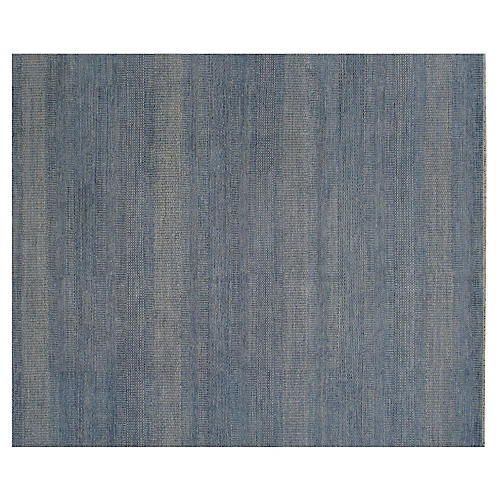 Dhana Hand-Knotted Rug, Blue