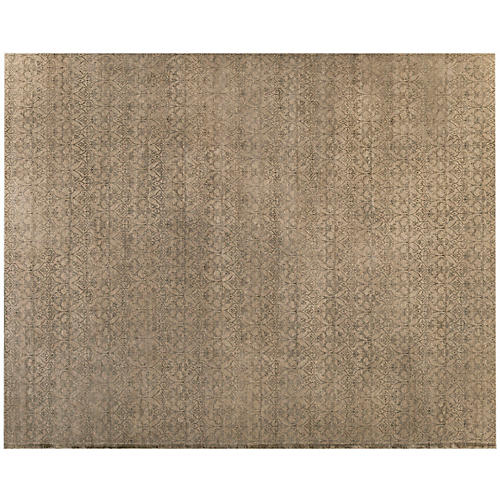 Tisra Hand-Knotted Rug, Brown