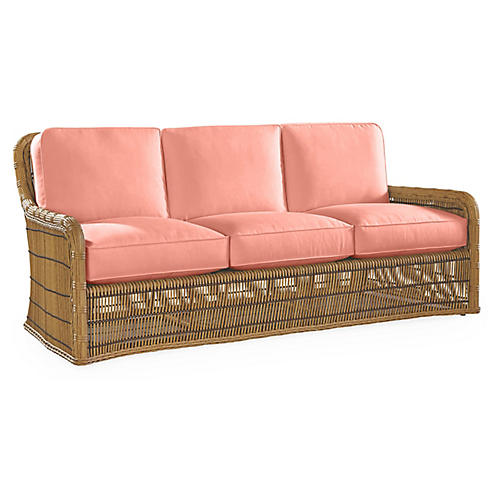 Rafter Sofa, Coral