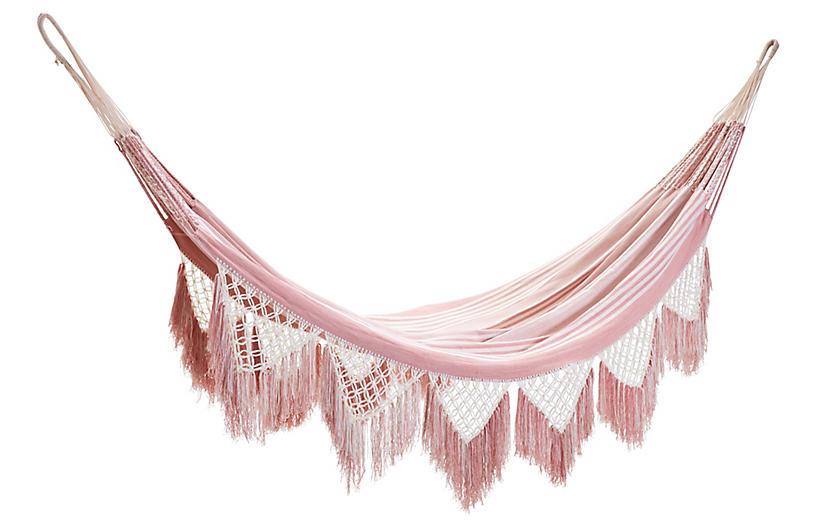 Izu Hammock, Pink/White