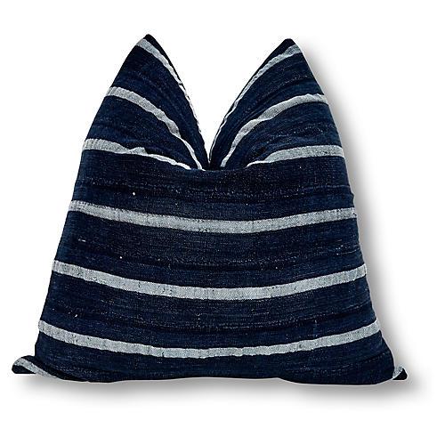 Bronte 24x24 Pillow, Indigo