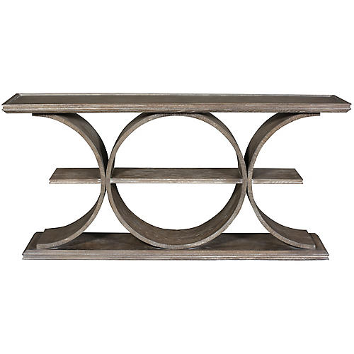 Strathmore Console, Driftwood