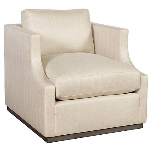 Meritus Accent Chair, Beige