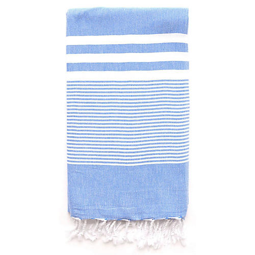 Nina Hand Towel, Blue