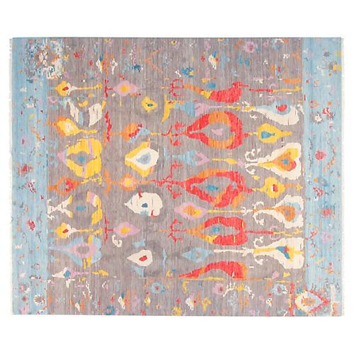 8'x10' Maya Rug, Gray