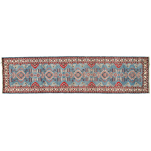 "2'10""x11'2"" Giana Kazak Runner, Blue"