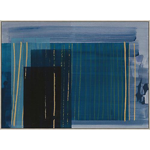 Thom Filicia, Denim Abstract III