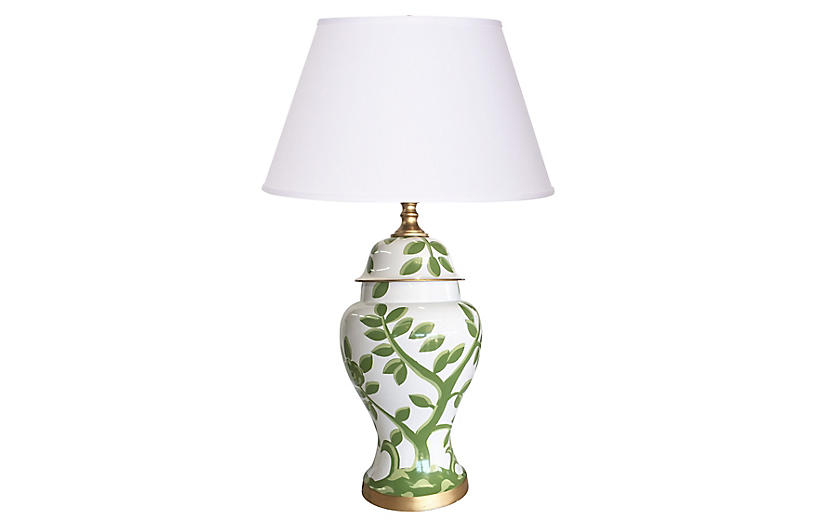 Cliveden Table Lamp, Green