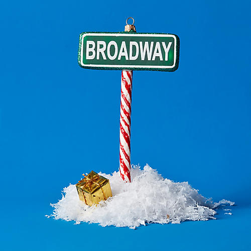 Broadway Ornament, Green