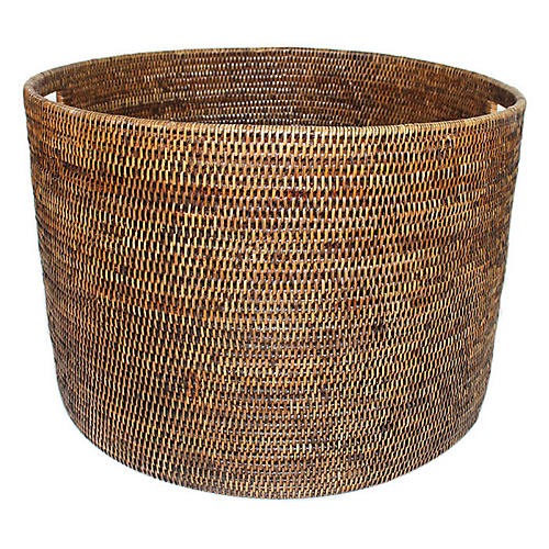 "20"" Laurel Open Storage Basket, Brown"