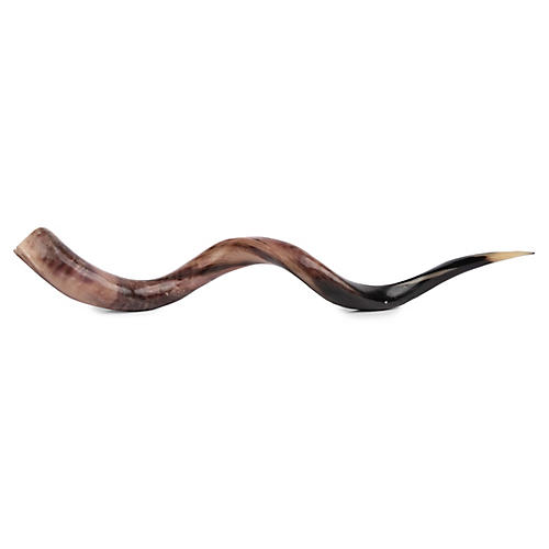 Kudu Horn Accent, Polished Natural
