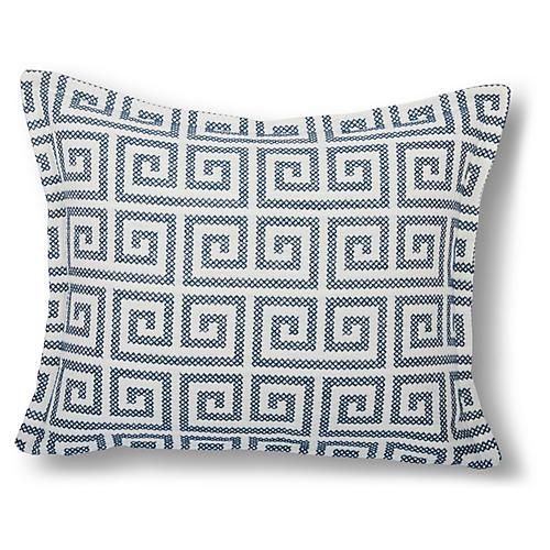 Alina 16x20 Pillow, Navy