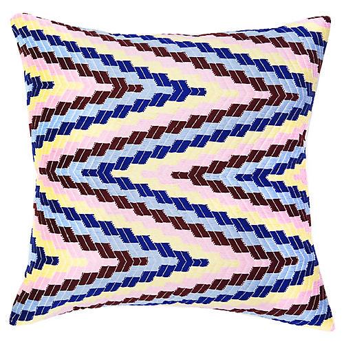 Almolonga 20x20 Pillow, Pink/Multi