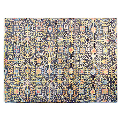 10'x14' James Rug, Navy Blue