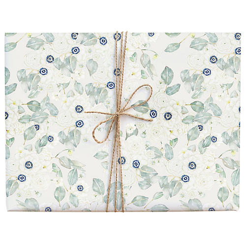 S/3 Calm Anemone Gift Wrap
