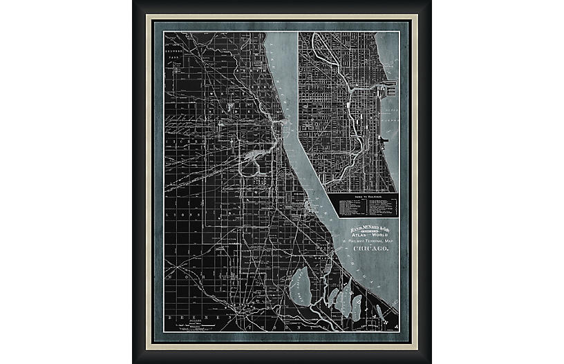 Railway Map of Chicago