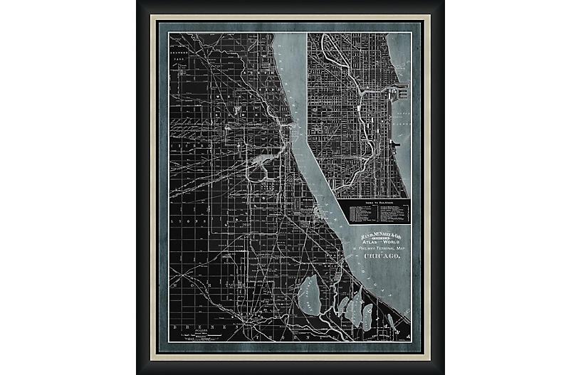 Railway Map of Chicago