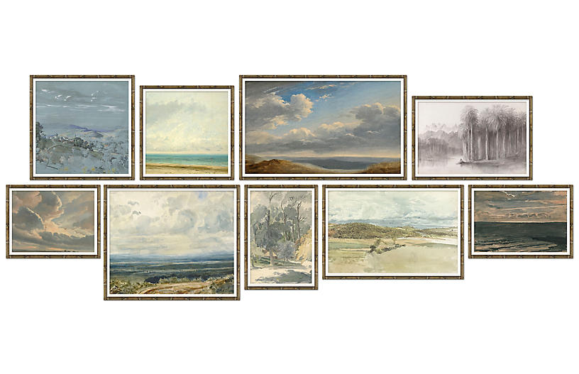 9-Pc Landscape Gallery Wall