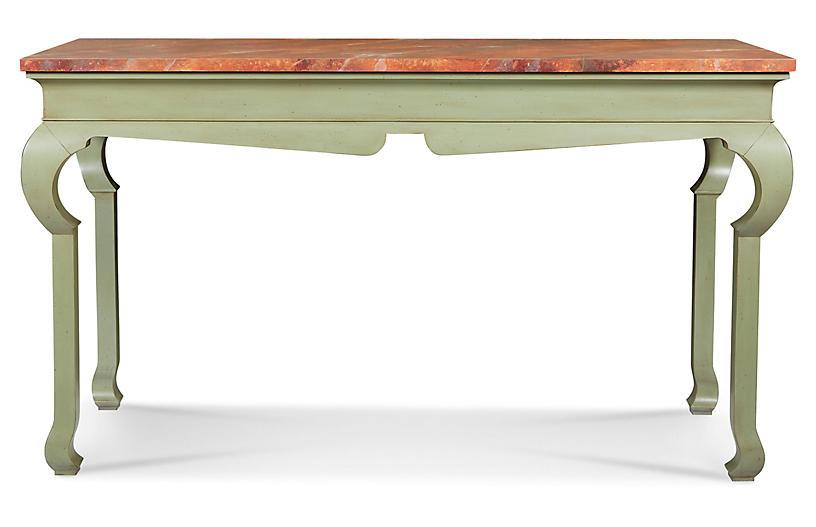 Ambrose Console, Lichen Green