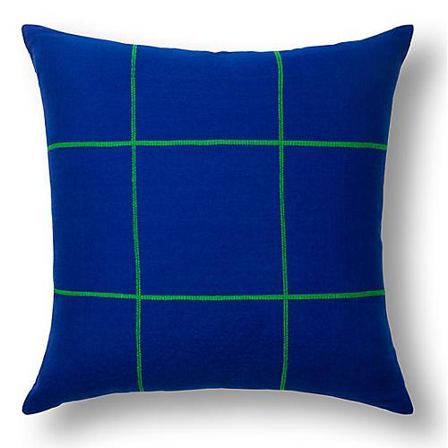Argo 20x20 Pillow, Cobalt