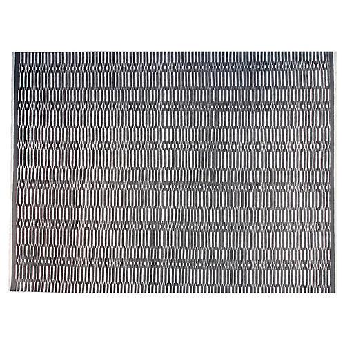 9'x12' Soho Hand-Knotted Rug, Charcoal