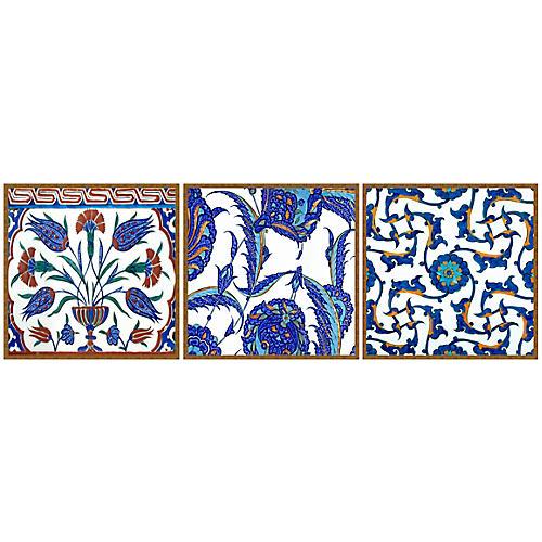 Lillian August, Turkish Tile Set