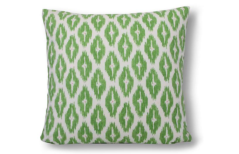 Diwali 22x22 Pillow, Green