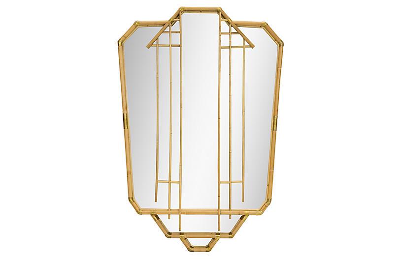 Edith Wall Mirror, Natural
