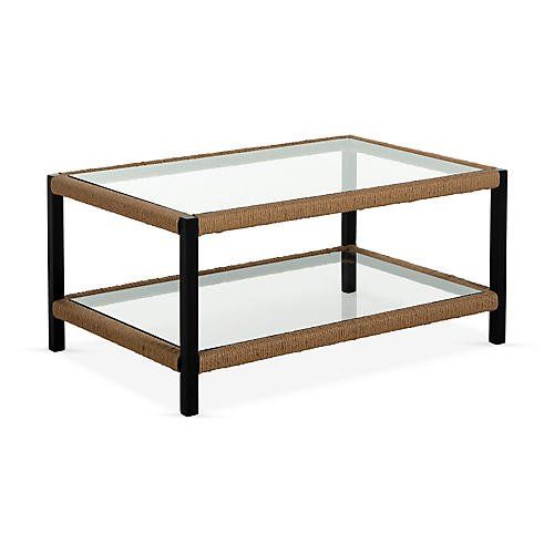 Harper Coffee Table, Matte Black