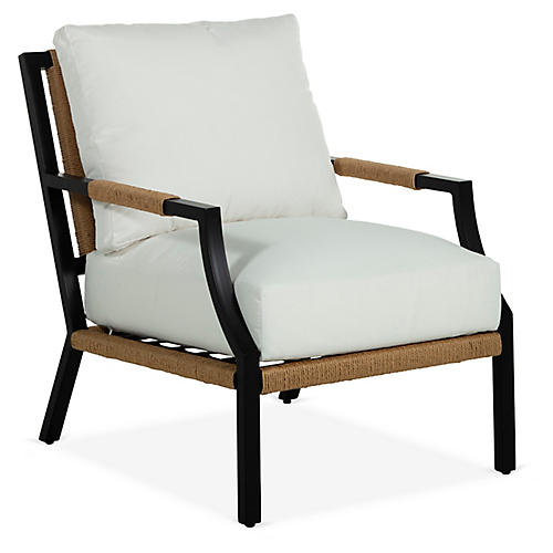 Harper Lounge Chair, Black