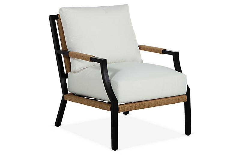 Harper Lounge Chair, Black