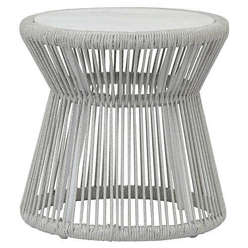 Miami Side Table, Light Gray