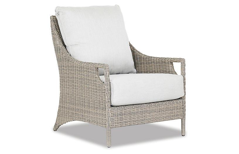Ibiza Club Chair, Ash