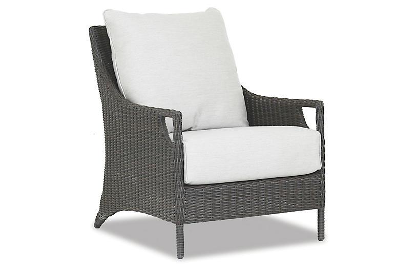 Lagos Club Chair, Cognac
