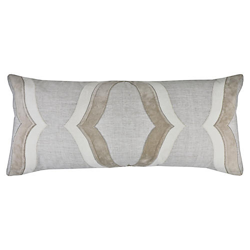Campbell 14x32 Pillow, Oatmeal