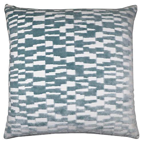 Tanner 22x22 Pillow, Spa