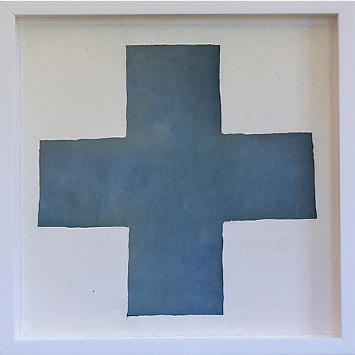 Dawn Wolfe, Dark Blue Hand Intagilo Cross