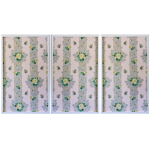 Dawn Wolfe, Yellow Roses Triptych