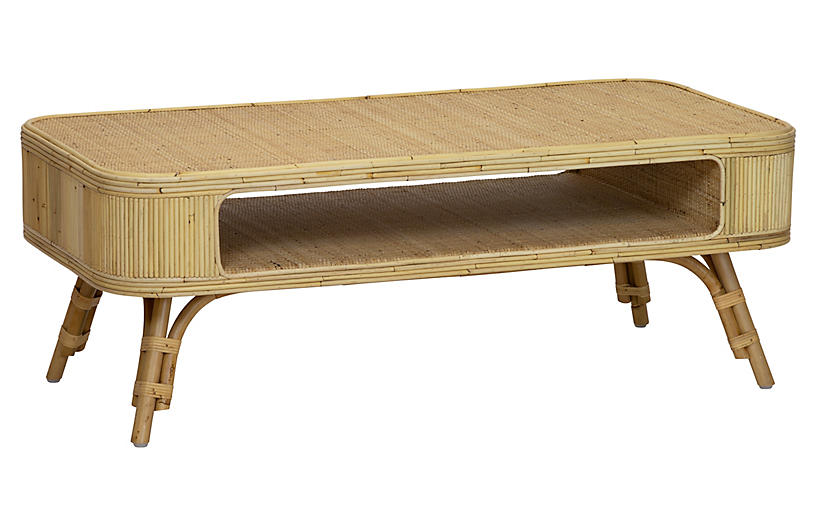 Bixby Coffee Table, Natural