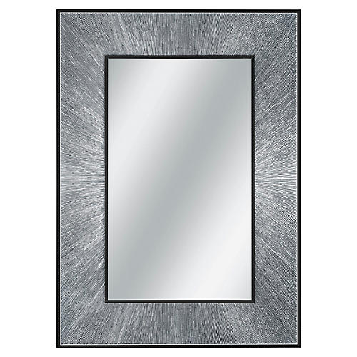 Radiant Wall Mirror, Mother-Of-Pearl