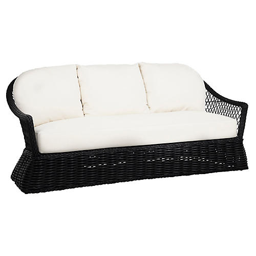 Soho Outdoor Sofa, Black