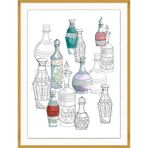 Jo Sampson, Crystal Vase Collection