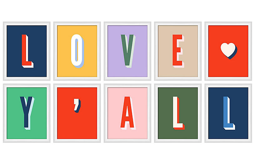 Pencil & Paper Co., Love Y'all