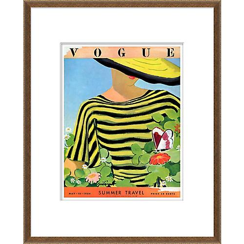Vogue Magazine Cover, Summer Travel