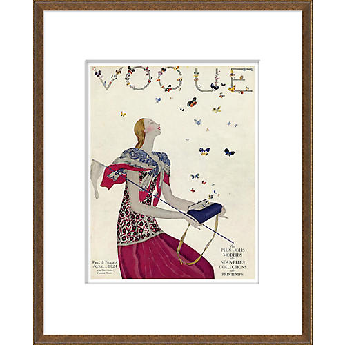 Vogue Magazine Cover, Butterflies