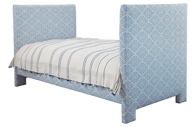 Provence Daybed, Blue/White