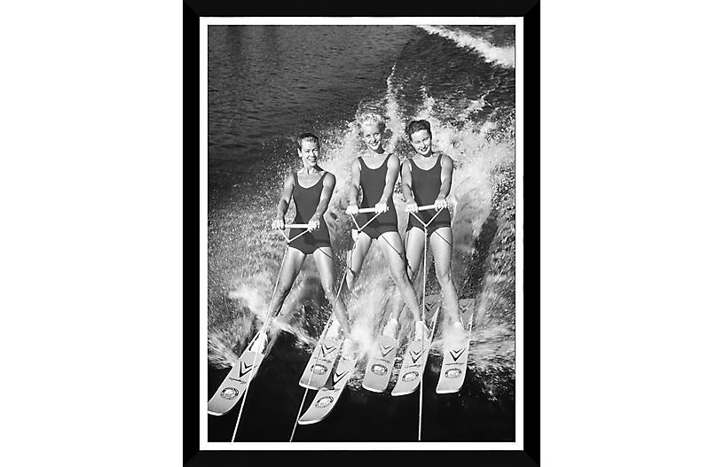 Waterskiing Circa 1960