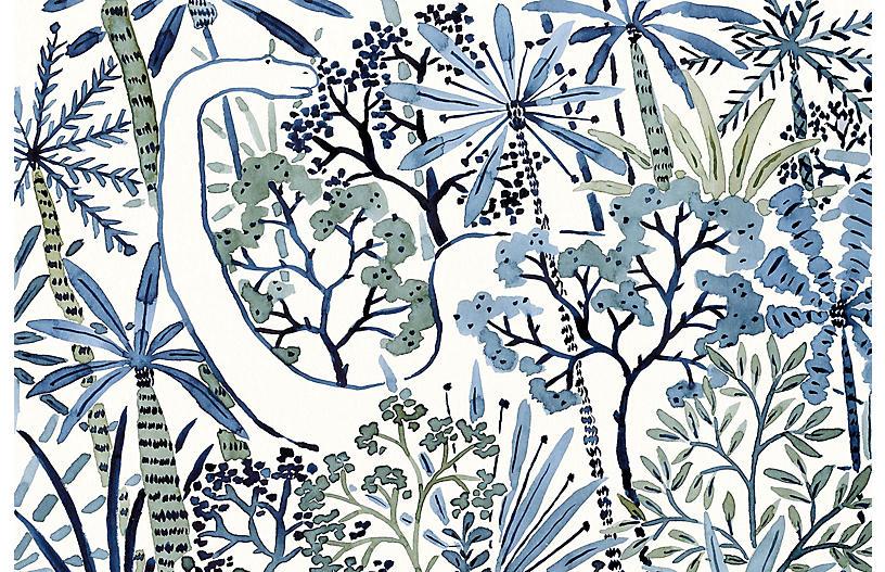 Vikki Chu Med. Dino Forest Wallpaper, Multi