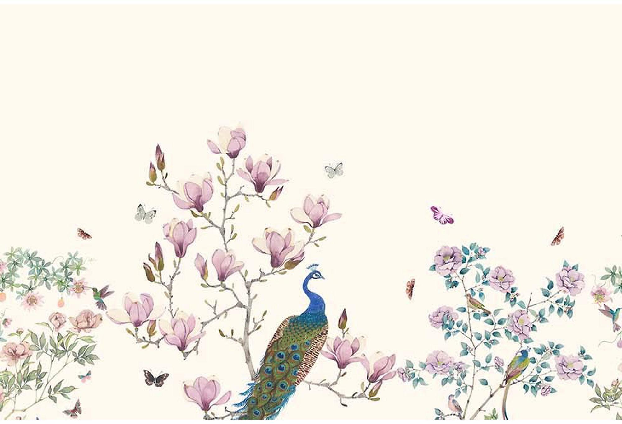 Peacock Wallpaperby Gabby Malpas