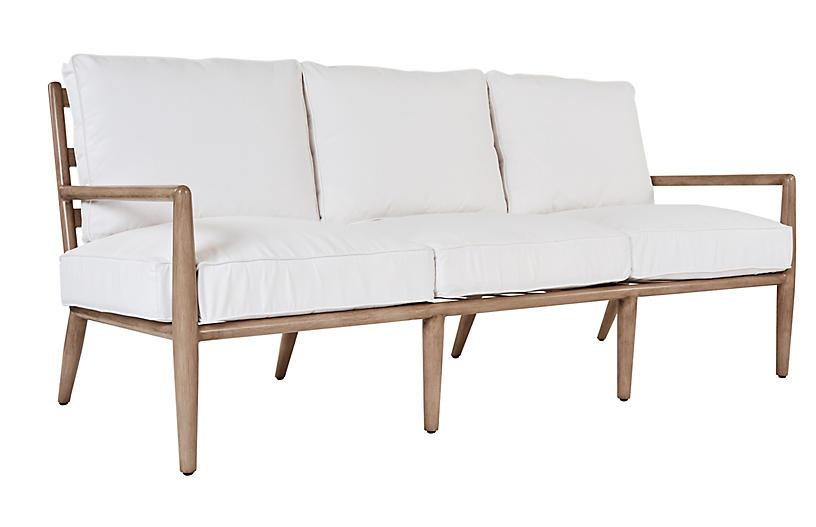 Siena Sofa, White